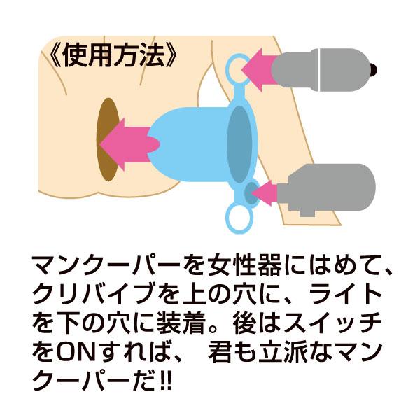 膣内観察クスコ【開いて探検マンクーパー】